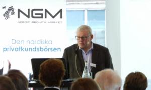 Åke Andersson, VD för Ginger Oil, presenterar företaget