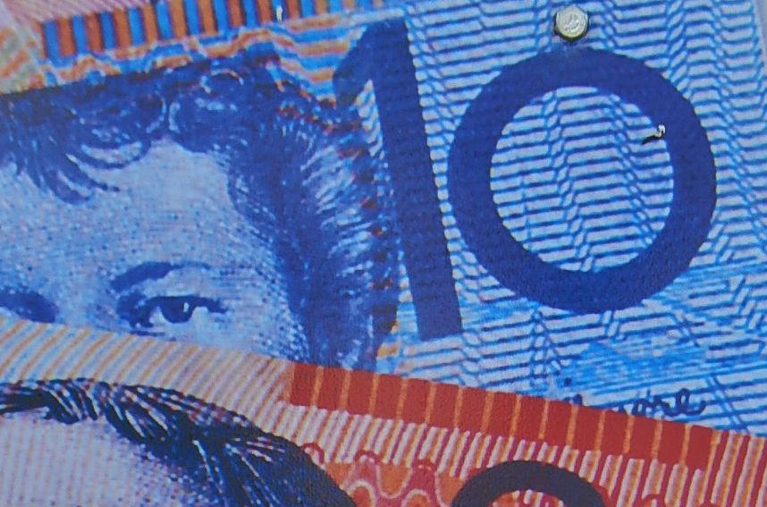 Valuta AUD, dollar Australien