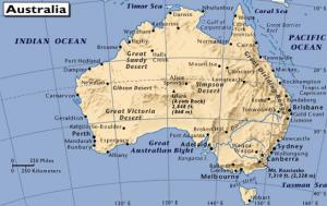 Australien - Nya reserver av skiffergas