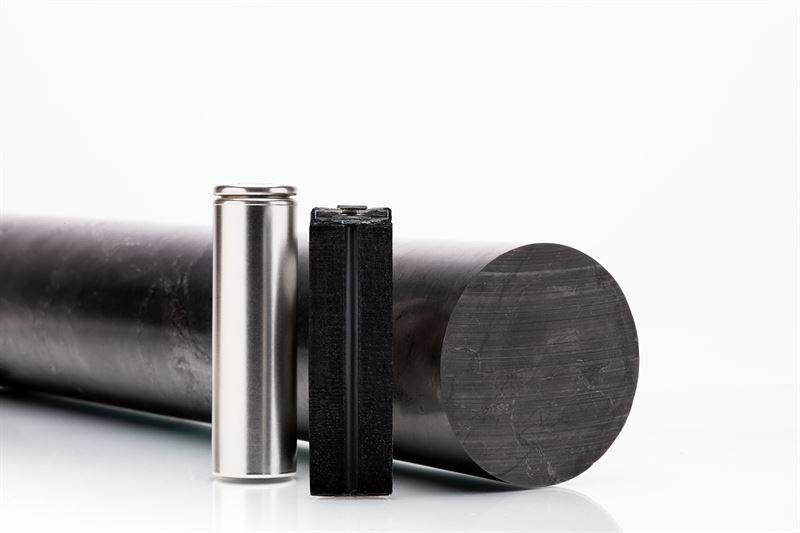 Batterier och grafit