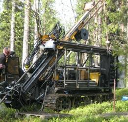 Beowulf Mining drilling in Kallak