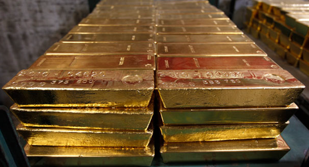 Big gold bars
