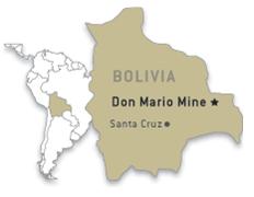 Bolivia - Don Mario mine