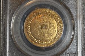 Brasher Doubloon - Det äldsta guldmyntet från USA
