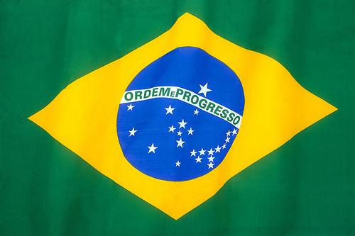 Den brasilianska flaggan