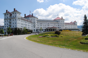 Mount Washington Hotel i Bretton Woods, Vermont, där Bretton Woods-avtalet skrevs på