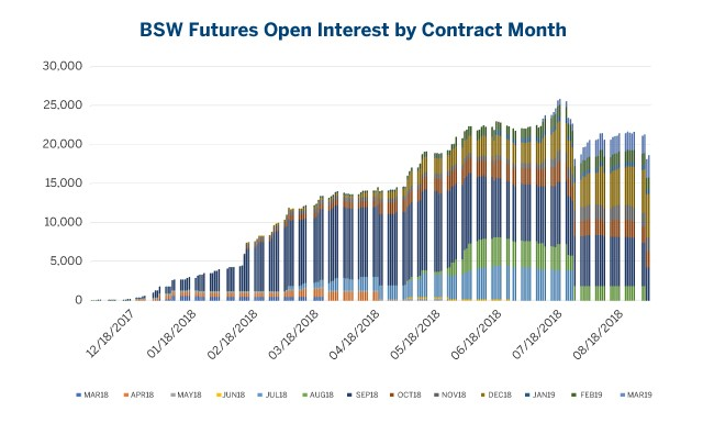 BSW open interest