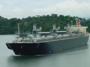 Fartyg av klassen Capemax. Ingår i Baltic Dry Index.