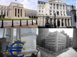 Centralbanker hotar inte guldpriset