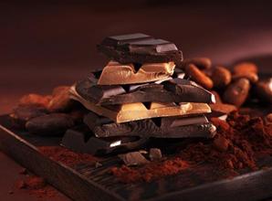 Choklad på kaffe