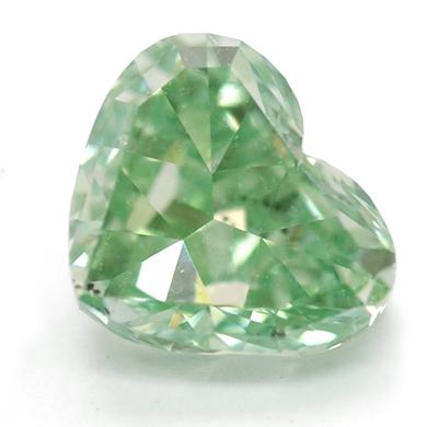 Diamant som ett hjärta