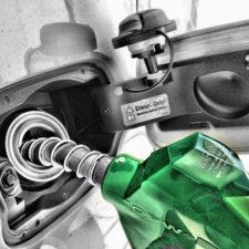 Platinapriset faller med dieselfordon
