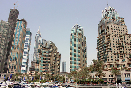 Skyskrapor i Dubai