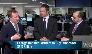 Energy Transfer Partners köper Sunoco för 5,3 miljarder dollar