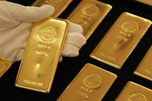 Fine guld bars for investment