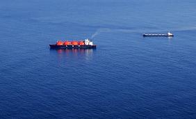 Flytande naturgas (LNG) skeppas till Japan