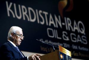 Kurdistans råvaruminister talar om olja