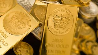 Guldprisets utveckling från år 1800 och framåt