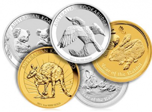 Fysiskt guld och silver - Ädelmetaller