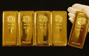 Fysiskt guld i form av tackor