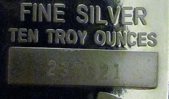 Fortsatt uppgång för silverpriset