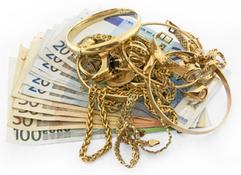 Skrotguld - Gamla guldsmycken blir pengar