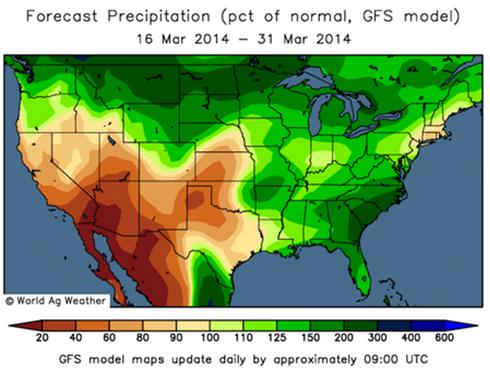 GFS - Väderprognos