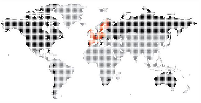 Global karta - Trender investera fonder