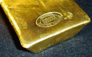 Gold bar, in no shortage at Comex