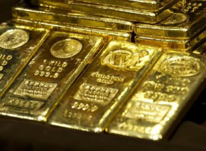 Gold bullion - guldtackor