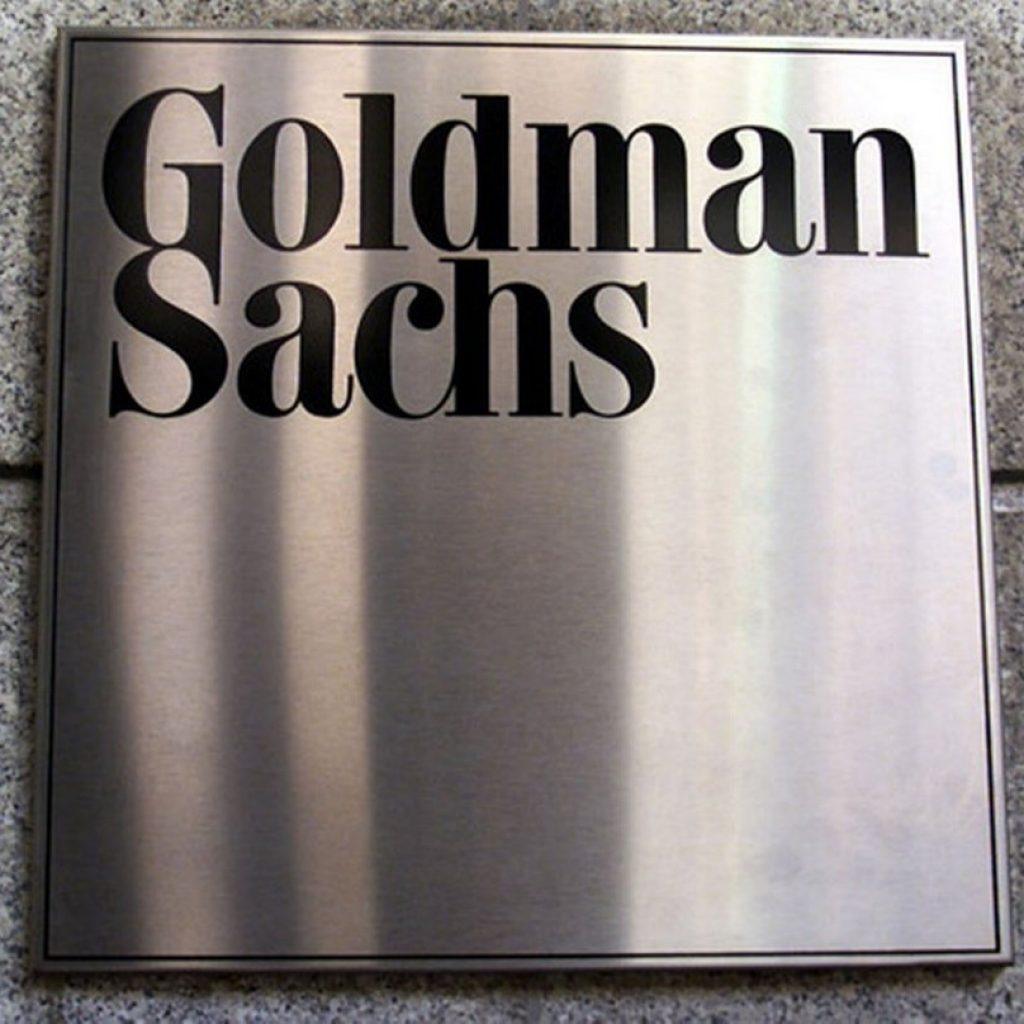 Goldman Sachs-skylt