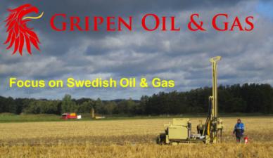 Gripen Oil & Gas ska producera olja och gas i Sverige