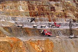 Aktiv gruva som ägs av Inmet Mining