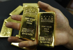 Guld handlas på London Bullion Market