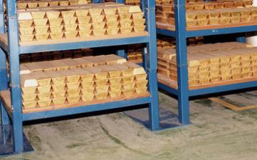 Utlåning av guld orsakade raset