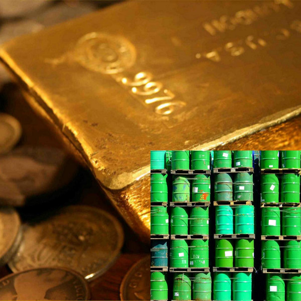 Guld och olja