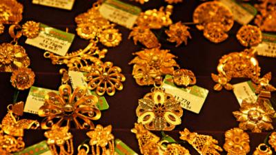 Guldet tar nya vägar till Indien