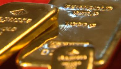 Investerare söker säkerhet i guld