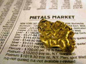 Guldaktier i prospektering bättre än fysiska metallen