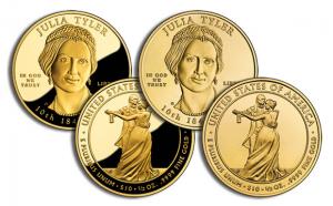 Investeringsguld - Guldmynt Julia Tyler