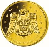 Vancouvern - Guldmynt från Kanada