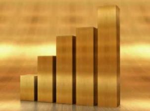 Guldpriset får BNP att tjurrusa