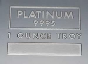 Guldpriset högre än platinapriset