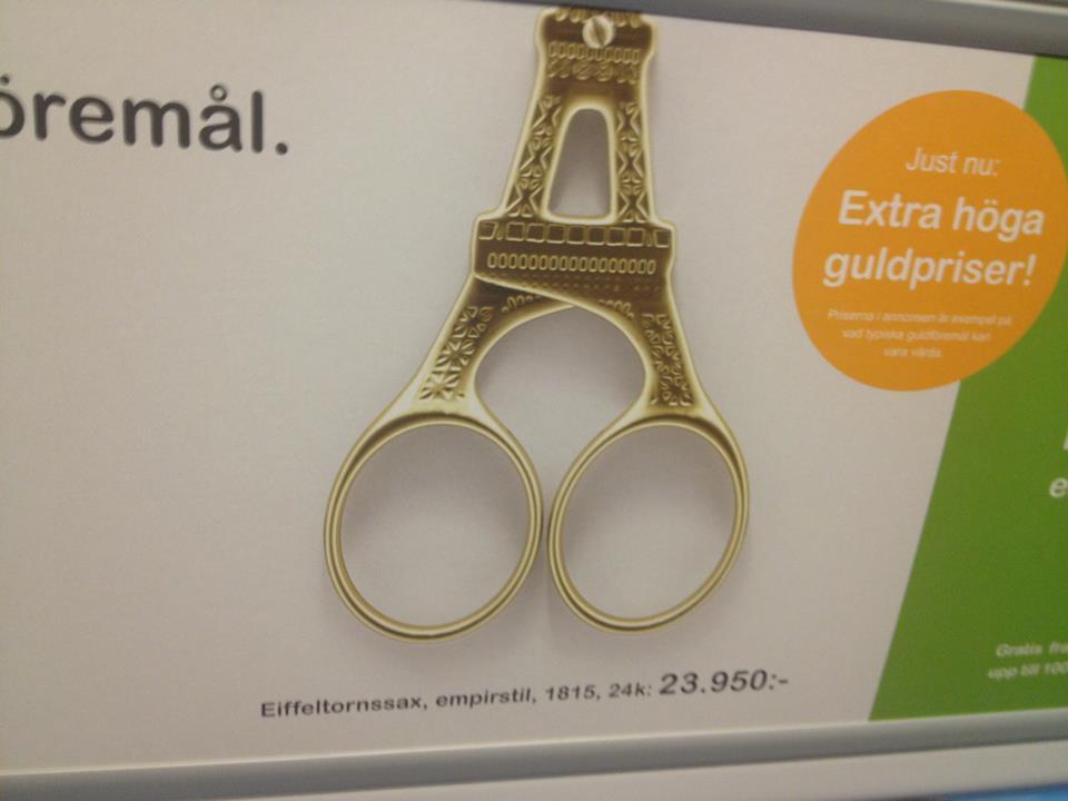 Guldsax - Guldbrev köper gammalt guld