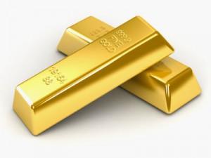 Två guldtackor av investeringsgrad
