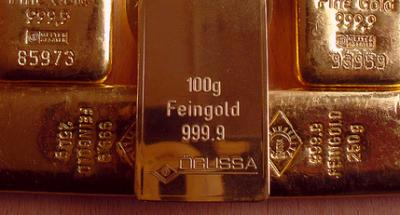 Goldman Sachs sänker prognoserna för guldkursen igen