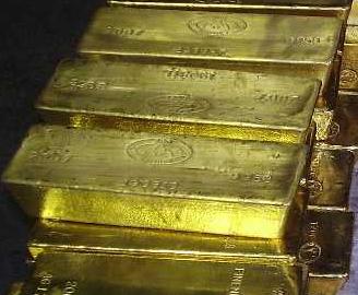 Guldtackor för investering staplade