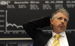 Handlar aktier på börsen