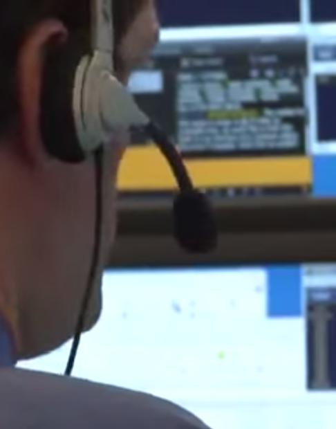 Trader med headset