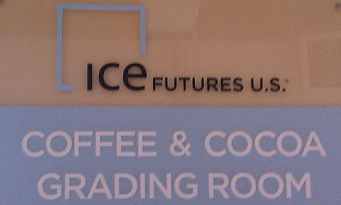 ICE Futures US - Coffee and cocoa grading room